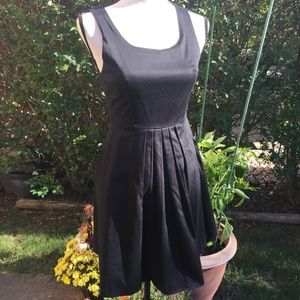 Charlotte Russe Black & Pink Bow Dress Size M